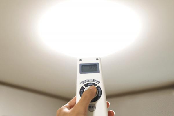 シーリングの照明